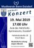 Jahreskonzert 2019 am 19. Mai 2019